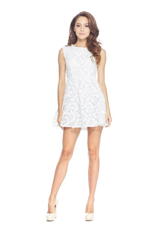 Floral Lace Baby Doll Dress
