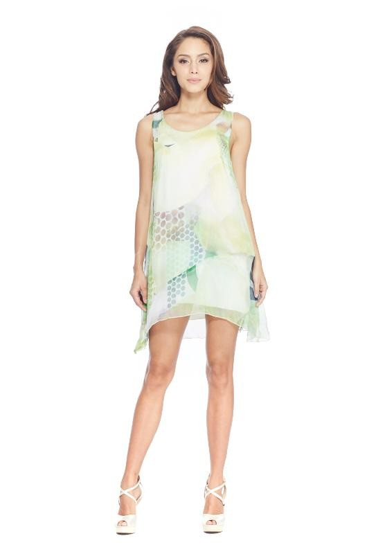 Verde Silk Dress