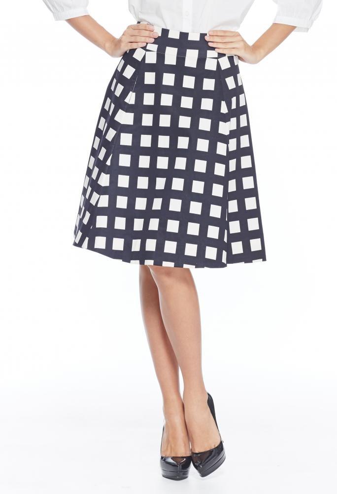 Checks Skirt
