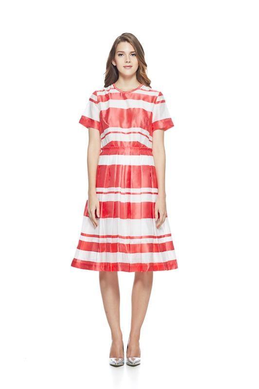 Stripe Dress Pink