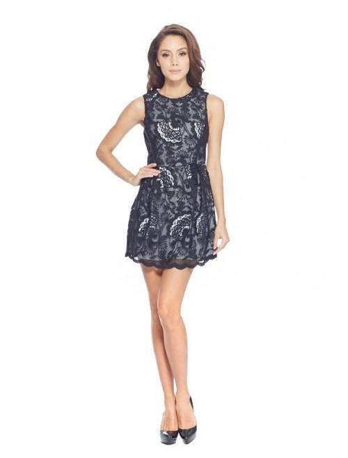 Mini Classic Lace Dress