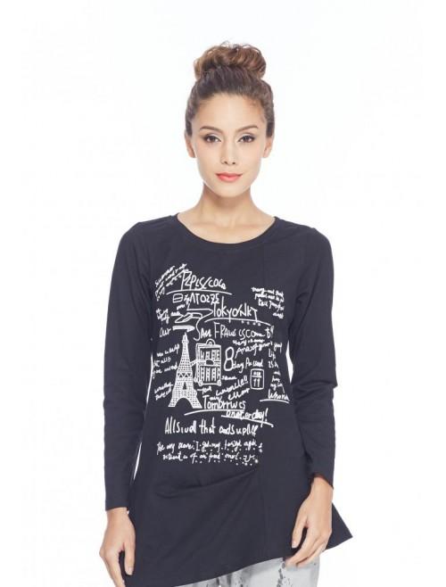 Paris Eiffel Tee