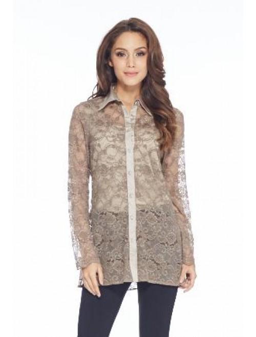 Camicia Lace Top